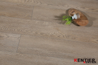 Light Brown Oak WPC Vinyl Flooring
